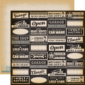 Full Auto Service Paper - Cartopia - Carta Bella