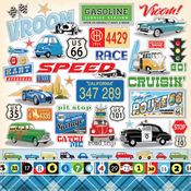 Cartopia Sticker Sheet - Carta Bella