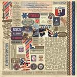 Heroic Details Sticker Sheet - Authentique