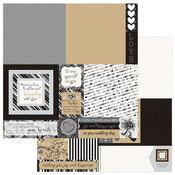 A La Card Square 12x12 Sheet - We Do - Photoplay