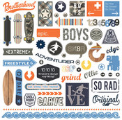 Freestyle Element Stickers - Photoplay