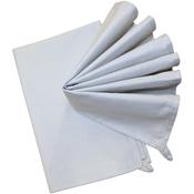 """Gray - Stitch 'Em Up Hemmed Color Dyed Kitchen Towels 18""""X28"""" 2/Pkg"""