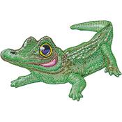 "Alligator 2.75""X3.75"" - C&D Visionary Patch"