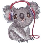 "Koala 2.75""X3.25"" - C&D Visionary Patch"