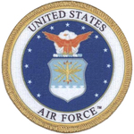 "Air Force 3"" - C&D Visionary Patch"
