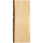 "5""X18"" - Basswood Natural Bark Edge Board"