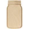 Baltic Birch Mason Jar Shape