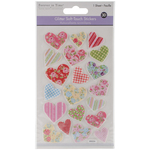 Heart - MultiCraft Glitter Soft-Touch Dimensional Stickers