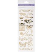 Beauty Fold - MultiCraft Clear Foil Stickers