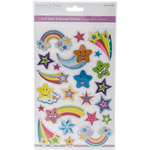 Over The Rainbow - MultiCraft Foil Laser Embossed Stickers
