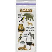Safari - MultiCraft Classic Theme Clear Stickers