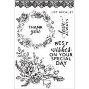 Sage & Grace Clear Stamps - Kaisercraft