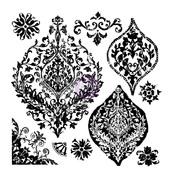 Portico Decor Stamps - Prima