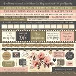 Keepsake Cardstock Sticker Sheet - Kaisercraft