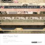 Keepsake 6.5x6.5 Paper Pad - Kaisercraft