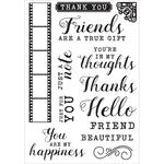 Keepsake Clear Stamps - Kaisercraft