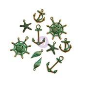 Sea Washed Metal Trinkets - St Tropez - Prima