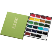 Assorted Colors - Kuretake Gansai Tambi 24 Color Set