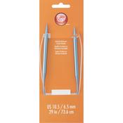 "Size 10.5/6.5mm - Circular Aluminum Knitting Needles 29"""