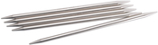 "Size 5/3.75mm - Double Point Stainless Steel Knitting Needles 6"" 5/Pkg"
