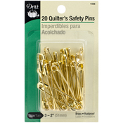 Size 3 20/Pkg - Quilter's Safety Pins