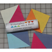 """50' 4.5"""" Finished Size - Half-Square Triangles On A Roll"""