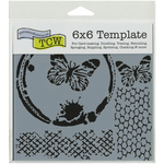 """Butterfly Collage - Crafter's Workshop Template 6""""X6"""""""