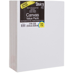 "11""X14"" - Studio 71 Stretched Canvas Value Pack 7/Pkg"