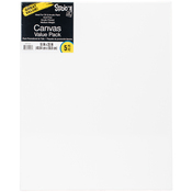 "16""X20"" - Studio 71 Stretched Canvas Value Pack 5/Pkg"