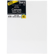 "12""X16"" - Studio 71 Stretched Canvas Value Pack 6/Pkg"