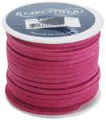 """Pink - Suede Lace .125""""X25yd Spool"""