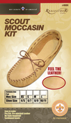 Scout Moccasin - Size 6/7 - Leathercraft Kit