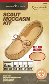 Scout Moccasin - Size 8/9 - Leathercraft Kit