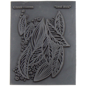 "Leaf Mob - Christi Friesen Texture Stamp 4.25""X5.5"""