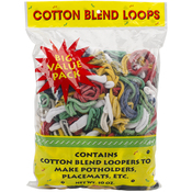Assorted - Cotton Blend Weaving Loops 10oz