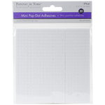 """White Round, .2"""" 576/Pkg - MultiCraft 3D Pop Dots Dual-Adhesive Micro Foam Adhesives"""