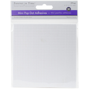 "White Square, .2"" 576/Pkg - MultiCraft 3D Pop Dots Dual-Adhesive Micro Foam Adhesives"