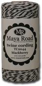 Blackberry - Maya Road Twine Cording 100yd