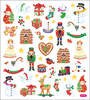 Christmas Toy Shop - Multicolored Stickers Sticker King-Multicolored Stickers. Ideal for embellishing cards, scrapbook pages, craft projects and more! The package contains an assortment of stickers on one 6-1/2x6 inch backing sheet. Acid and lignin free. Comes in a variety of designs. Each sold separately. Imported.