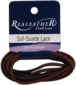 "Cafe - Sof-Suede Lace .094""X2yd Packaged"