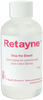 4oz - Retayne Color Fixative G&K CRAFT-Retayne Color Fixative.  Retayne is a color fixative for commercially dyed cotton, linen and rayon fabrics that bleed. Use in the washing machine or treat by hand washing with hot water.  Always test fabric before washing it for the first time.  Only one application is necessary.  You can treat 24 yards with one 4 ounce bottle.  This package contains one 4ozbottle: enough for approximately 24yds of fabric.  Contents conform to ASTM D4236. Made in USA.