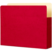 "Ruby Red - Student Project Folders 9.5""X11.75""X3.5"" 5/Pkg"