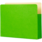 "Evergreen - Student Project Folders 9.5""X11.75""X3.5"" 5/Pkg"