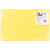 "Sunny Yellow - Student Project Folders 9.5""X14.75""X3.5"" 5/Pkg"