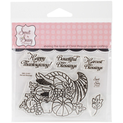 """Harvest Blessings - Sweet 'n Sassy Clear Stamps 3""""X4"""""""