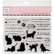 """Kitty Love - Sweet 'n Sassy Clear Stamps 6""""X8"""""""