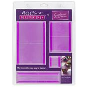 Rock-A-Blocks Stamping Block Set 4/Pkg