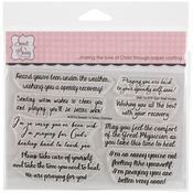 """Get Well Innies - Sweet 'n Sassy Clear Stamps 4""""X6"""""""