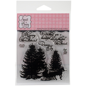 """Old Fashioned Christmas - Sweet 'n Sassy Clear Stamps 4""""X4"""""""