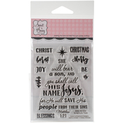 """Scripture Tree - Sweet 'n Sassy Clear Stamps 3""""X4"""""""